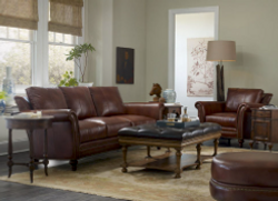Leather Living Room Love