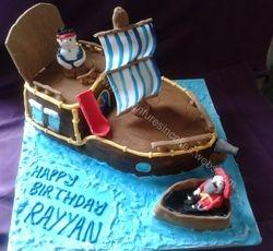 Jake & neverland pirates Cake