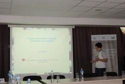 Vera Hayova on fungal conservation in Ukraine