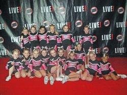 Mini Cheer at Live 2011