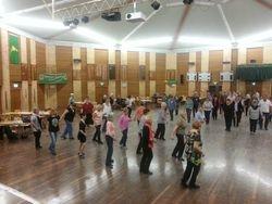 Friday night dance floor