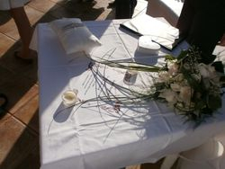 The presentation table