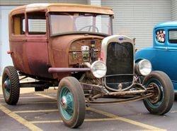 52. 29 Model A Ford Sedan