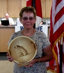 State Doubles Championship Non-Resident RU Champ Shirley Hayes
