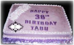 Turning 38 Cake
