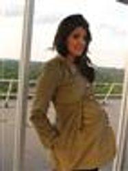 Maternity Corduroy Winter Jacket