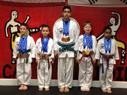 04/26/2015 Presidential Cup TKD Championship  went with 5 Students came back with 8  1st Place  5  2nd Place  4  3rd Place