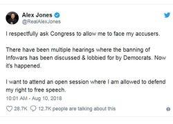 Alex Jones Demands Right to Congressional Hearing 01
