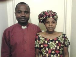 Pastor Alobo and his wife