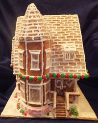 Gingerbread Childhood Home