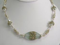 Byzantine and Artisan Glass Necklace