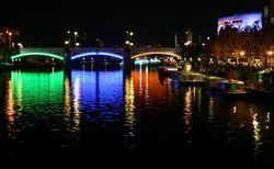 Princes Bridge in Lights