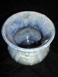Crystal Ice Vase Detail