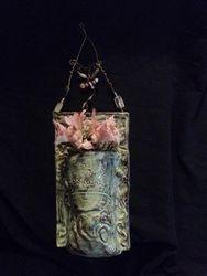 Moss flower pocket