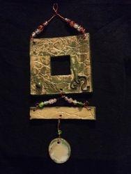 Moss green memory frame