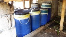 Silage drums