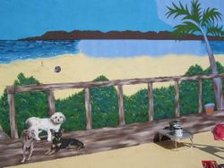 La Playa, work in progress 2