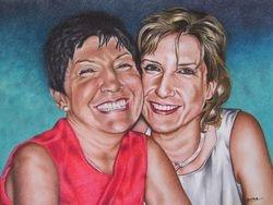 Caroline and her Mum