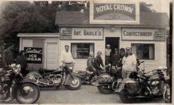 Art Bahle's Corner Store around 1948