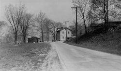 Canal Road at Willson's 1934