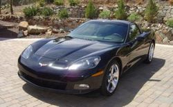 Dion and Judy's Black C6