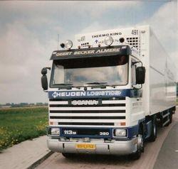 Scania T113 streamliner