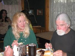 SHARING AN EASTER / 80TH. BIRTHDAY 2009