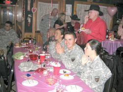 VALENTINE'S DAY FOR THE TROOPS 2009