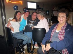 Annie, Suzanne, Hilda, Patricia and Sondra.
