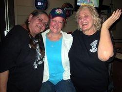 Hilda, Suzanne and Rosie.