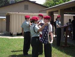 JROTC Flag Folding