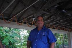 Men's Auxiliary President Gene Cadden