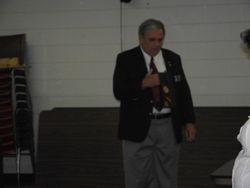 District 21 Senior Vice opening prayer