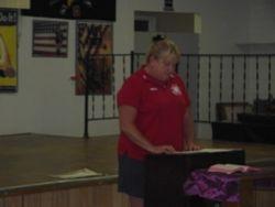 Ladies Auxiliary President Speech