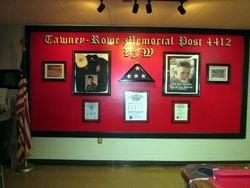 Larry Tawney and Michael Rowe Memorial Wall.