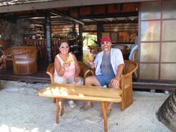 Vahine Island Resort bar