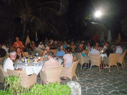 PPJ Dinner party at the Moorea Hilton