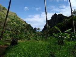 Fatu Havi valley hike view