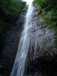 Fatu Hiva waterfall