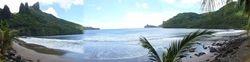 Nuku Hiva Bay view