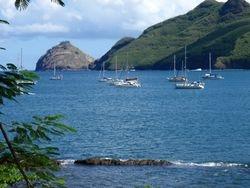 Taiohae Bay anchorage, Nuku Hiva