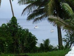 Niue anchorage