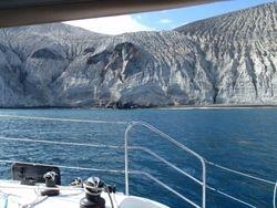 San Benedicto Island's Southern Anchorage
