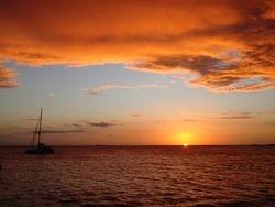 Suwarrow sunset