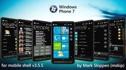 Mskip's Windows Phone 7 Theme for Windows Mobile 6/6.5 Menus