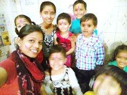 Holi celebration at VVF