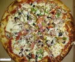 Deep Dish Supreme Pizza
