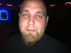 Derek with beard extensions