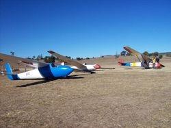 Aircraft line up