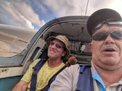 Funeral flight for warwicks dad